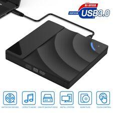 Portable Cd/Dvd-Rw Burner Reader Player Pro External Driver Recorder Usb 3.0 3D