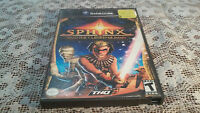 Sphinx and the Cursed Mummy (Nintendo GameCube, 2003) No Manual / Tested