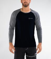 New Men's Fitness Long Sleeve T-shirt Gym Clothing Workout Sport Training Wear