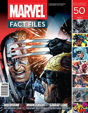 Marvel Fact Files Issue #50 Moon Knight  Weapons Master Wolverine Avengers BNIB