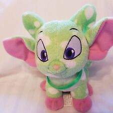 """Neopets Green Spotted Plush Acara 6"""" Stuffed Animal"""