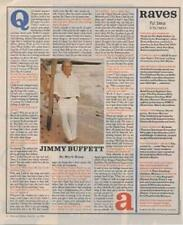 Jimmy Buffett Foo Fighters Smear Interview/article 1996