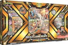 Pokemon Mega Camerupt EX Premium Collection Box 6 Booster Packs + Promo Cards