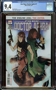 Star Wars: Doctor Aphra 7 (2021) CGC 9.4 WP - 1st Appearance of Wen Delphis