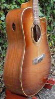 Wilhelm Guitars Handmade Amazon Rosewood, Cedar Dreadnought Acoustic Guitar