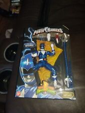 "Bandai 2017 Limited Edition Power Rangers Legacy Collection ""Blue Ranger"" Figure"