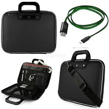 "SumacLife Tablet Messenger Bag Briefcase for 12.3"" Microsoft Surface Pro 7+Cable"