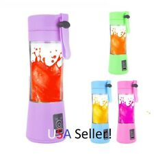 380ml Rechargeable Portable Blender Cup Mixer Fruit Smoothies