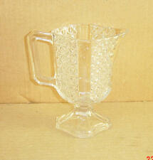 EAPG CRY HEAVY FINECUT PANEL SEQUOIA CREAMER DUNCAN & SONS 1891