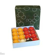 Billes Boules de billard Pool  50.8 mm pour billards pool