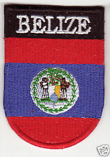 BELIZE Flag  Country Patch Shield Style