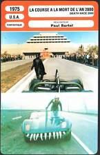 LA COURSE A LA MORT DE L'AN 2000 - Stallone(Fiche Cinéma) 1975 - Death Race 2000