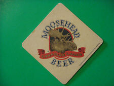 Beer Coaster Mat ~ Moosehead Canadian Lager ~ New Brunswick, Canada ~ Since 1867