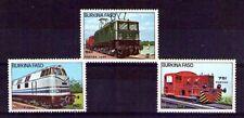 Burkina Faso ferrocarriles año 1985 (K-113)