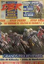 Dirt Bike Rider Magazine September 1988 More details of 1989 bikes KTMS ridden