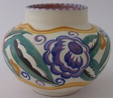 Early Poole Pottery FQ Vase Designed By Truda Carter