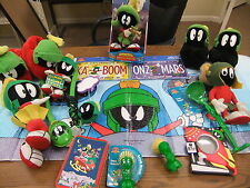 Marvin The Martian HUGE LOT Toon-Tensils Plush Dolls License Plate Slippers Lamp
