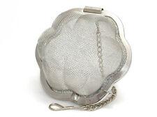 Stainless steel mesh flower shaped tea infuser
