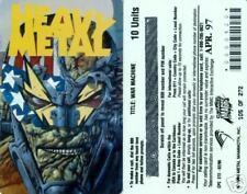 Heavy Metal War Machine Limited Phone card  of 272