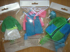 Vintage Barbie Skipper Archival Quality Clothes Display Bags 67-70 Organize! Lot