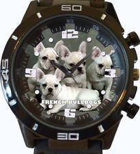 French Bulldog Puppies New Gt Series Sports Unisex Gift Wrist Watch