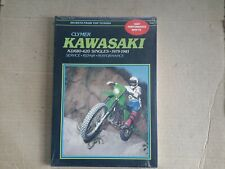 New Clymer workshop manual for KAWASAKI KDX80 - 420 SINGLES,  1979 to 1981. M446