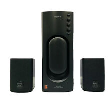 Sony Active Powered Subwoofer & Bookshelf Speakers for Walkman SRS-D2 & SRS-002