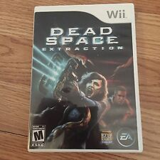 Dead Space Extraction Nintendo Wii Game Cib Complete Nice W2