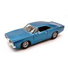 DODGE CHARGER R/T 1969 METALLIC BLUE 1:25 Maisto Auto Stradali Die Cast