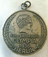 "New ListingGermany 1936 Berlin Olympic Medal Olympia 1 3/8"""