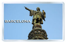 BARCELONA CRISTOBAL COLON STATUE FRIDGE MAGNET SOUVENIR IMAN NEVERA