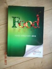 SLIMMING WORLD FOOD DIRECTORY 2012 25,400 GOODS - SYNS FOR RED GREEN & EX EASY!