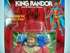 K1908313 KING RANDOR MOC MINT ON SEALED CARD HE-MAN 1986 MOTU MATTEL VINTAGE
