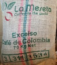 Colombian Excelso Huila Speciality Green Coffee Beans - 3 lb, 5 lb