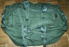 ENHANCED DUFFLE BAG, OD GREEN NYLON, EAGLE MADE, U.S. ISSUE *NICE*