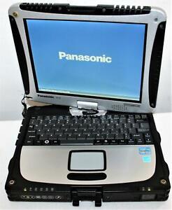 "10"" Panasonic ToughBook CF-19 MK5 Core i5 6GB 160GB SSD WiFi BT Touch <100 Hrs !"