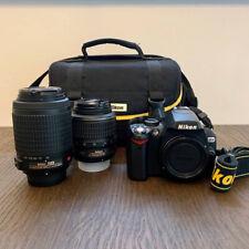 Nikon D60 Digital SLR Camera With Lenses, Accessories