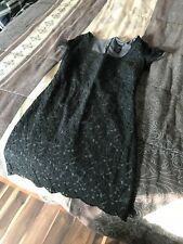Aritzia XS Cocktail Dress Extra Small Talula Black Lace Crochet Betty Mini Dress