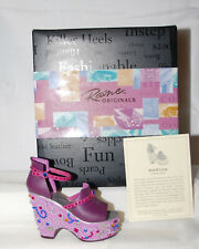 Just The Right Shoe by Lorraine Vail Shoe Miniatures- Mardi Gras