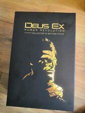 Deux Ex Human Revolution Collectors Edition with Figure - Xbox 360 - UK Pal