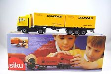 SIKU 3424 M.A.N. LKW Truck & CONTAINER Trailer in DANZAS Livery Mint in Box
