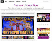 * CASINO VIDEO TIPS * blog website business for sale w/ AUTO UPDATING CONTENT!