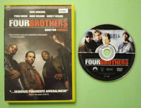 DVD Film Ita Azione FOUR BROTHERS tyrese gibson ex nolo no vhs cd lp mc (T6)