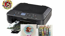 Canon MX922 BK- Wireless Edible Printer Bundle - Ink & Edible Sheets Included