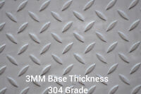 3mm stainless tread durbar checker steel disc circle blank plate sheet round