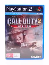 Call of Duty 2: Big Red One, Sony Playstation 2 Video Game, PAL, PS2