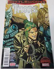 Thors #3 Battleworld First Print Comic NM Marvel Direct J&R