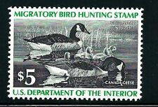 US SCOTT #RW43 - FEDERAL DUCK - MINT NEVER HINGED -  SCV $10.00