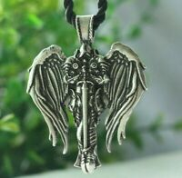 Patron Saint St Michael Archangel Irish Celtic Cross Talisman Pendant Necklace