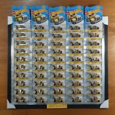 (Lot of 50) Hot Wheels RIG STORM GOLD 24K - 2019 MEIJER's Exclusive Gold Edition